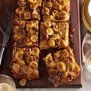 Bananas Foster Baked French Toast Bananas Foster Baked French Toast Recipe from Taste of Home