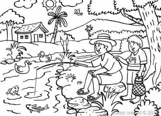 Pin Oleh Syifa Nurfazria Di Paud Coloring Page Warna Buku