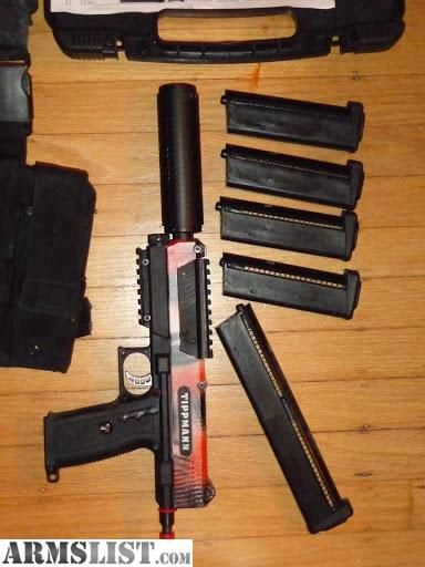 For Sale: TiPX paintball pistol 19-piece pro-setup | paintball