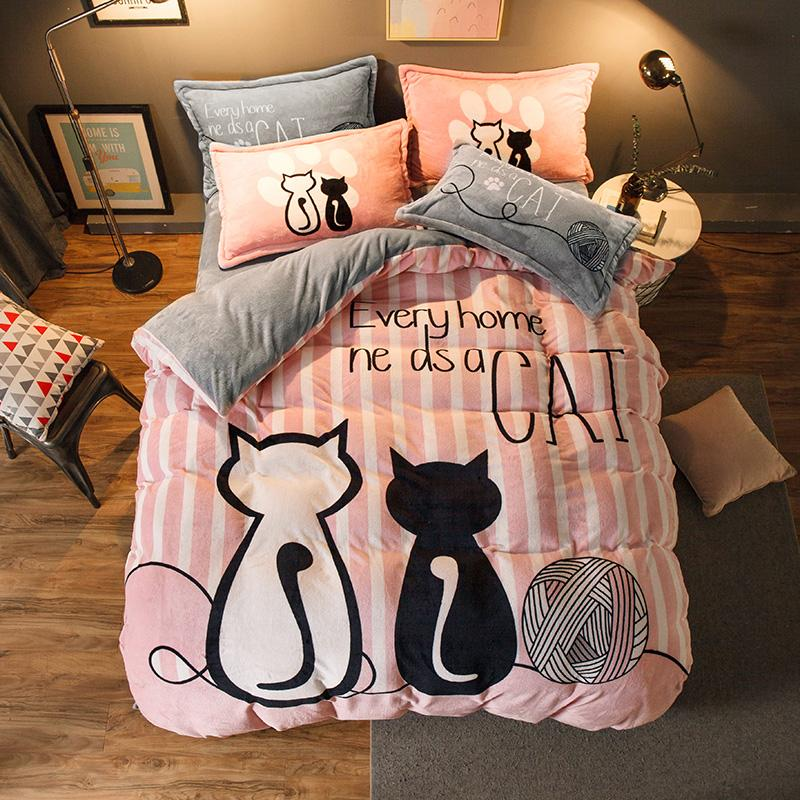 New Luxury Bed On A Bag Sets Cute Bed Sheets Duvet Cover Sets Childrens Duvet Covers