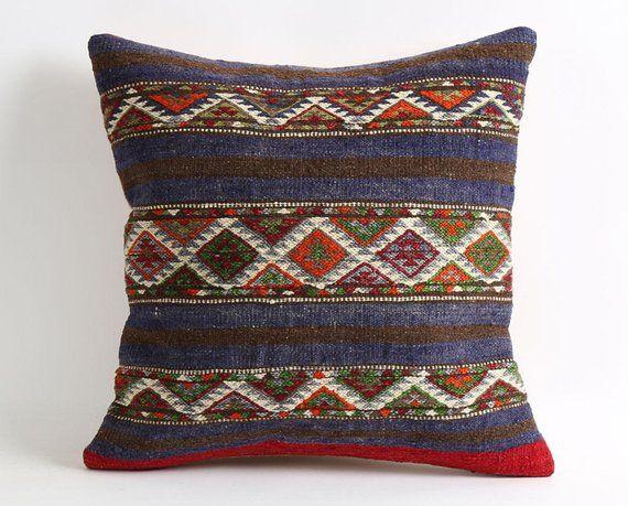 Phenomenal Boho Pillow Kilim Pillows Hippie Patio Chair Cushion Inzonedesignstudio Interior Chair Design Inzonedesignstudiocom