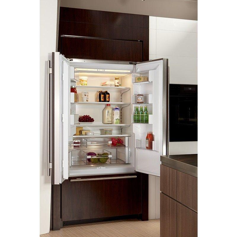 Sub Zero Bi 36ufd O 36 Built In French Door Refrigerator French Doors French Door Refrigerator Refrigerator
