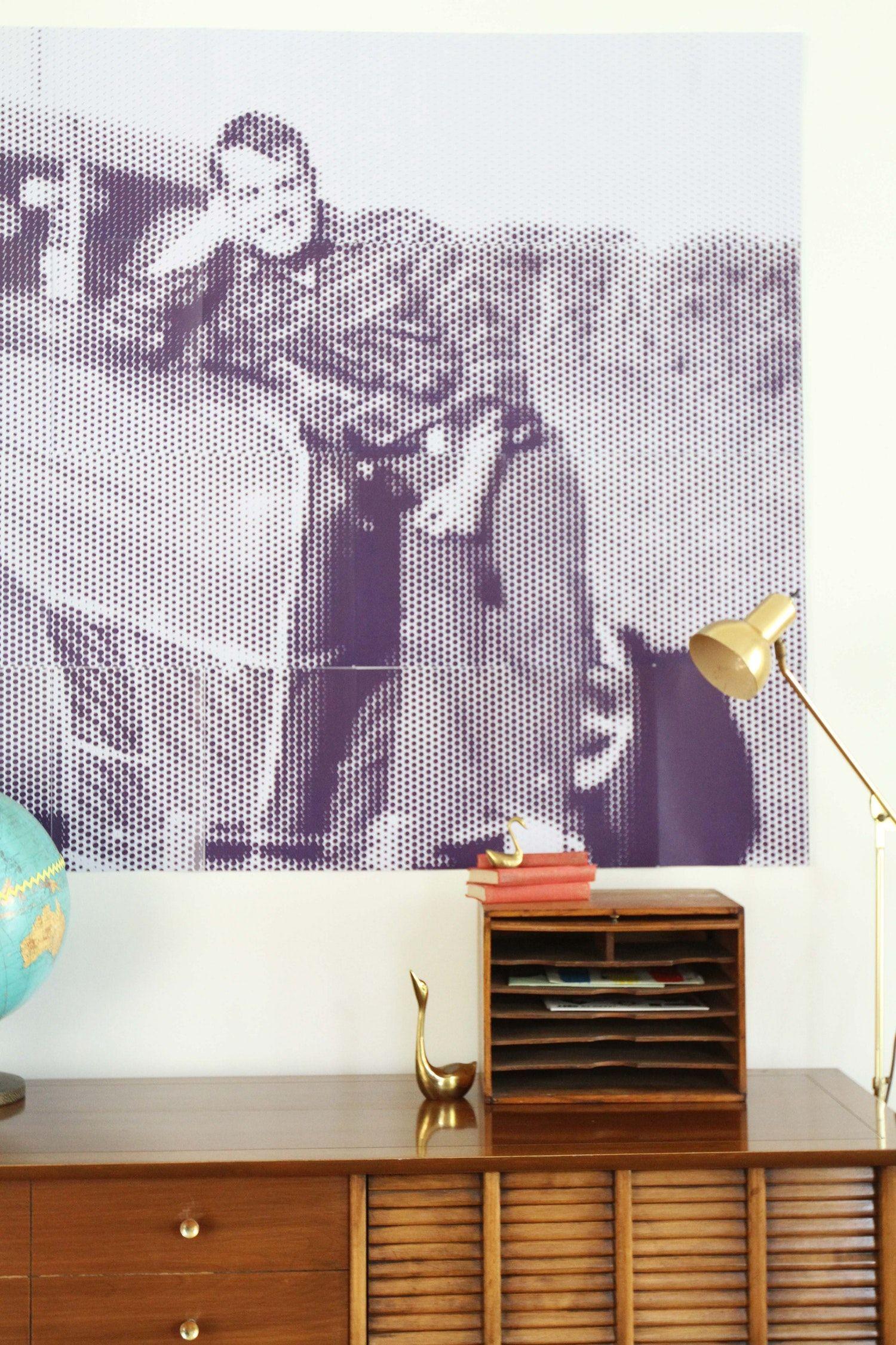How To Use The Rasterbator To Create Large Scale Wall Art Diy