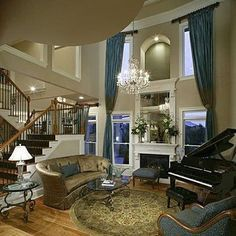 Charmant Image Result For Two Story Living Room Decorating Ideas