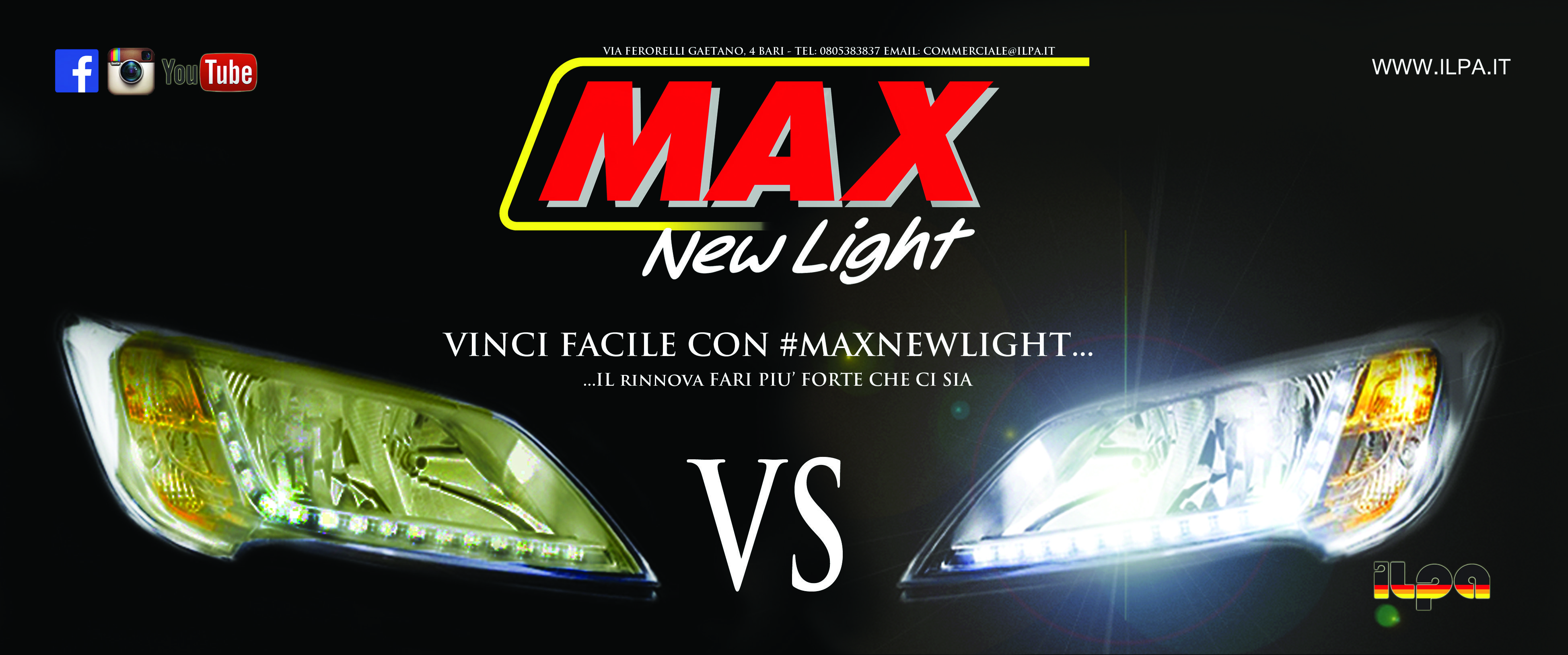 MAX NEW LIGHT: just to renew your car lights from yellowing process.
