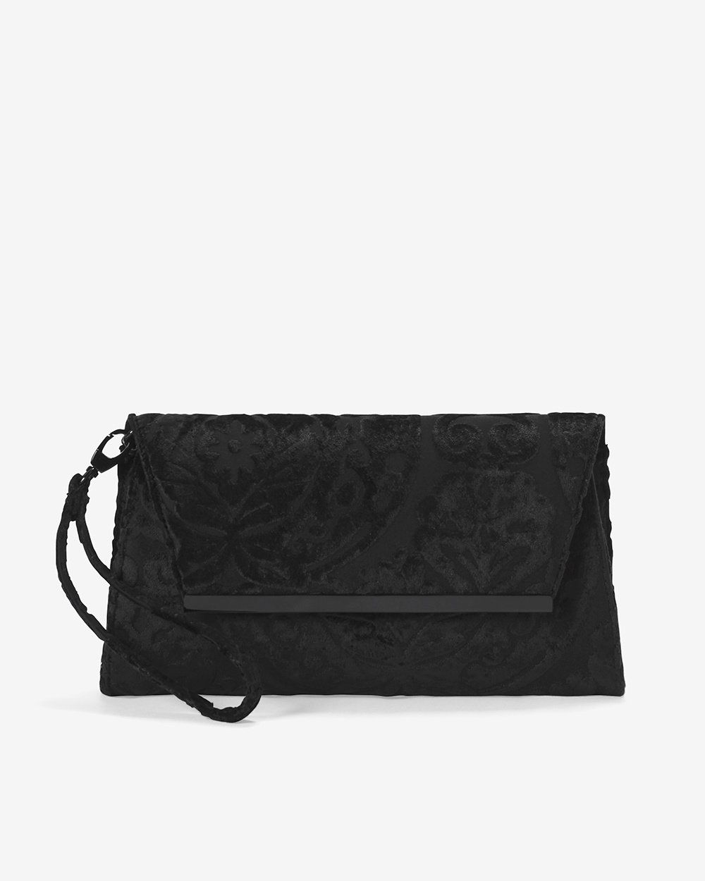 cd2a4f140b8e Black Velvet Clutch