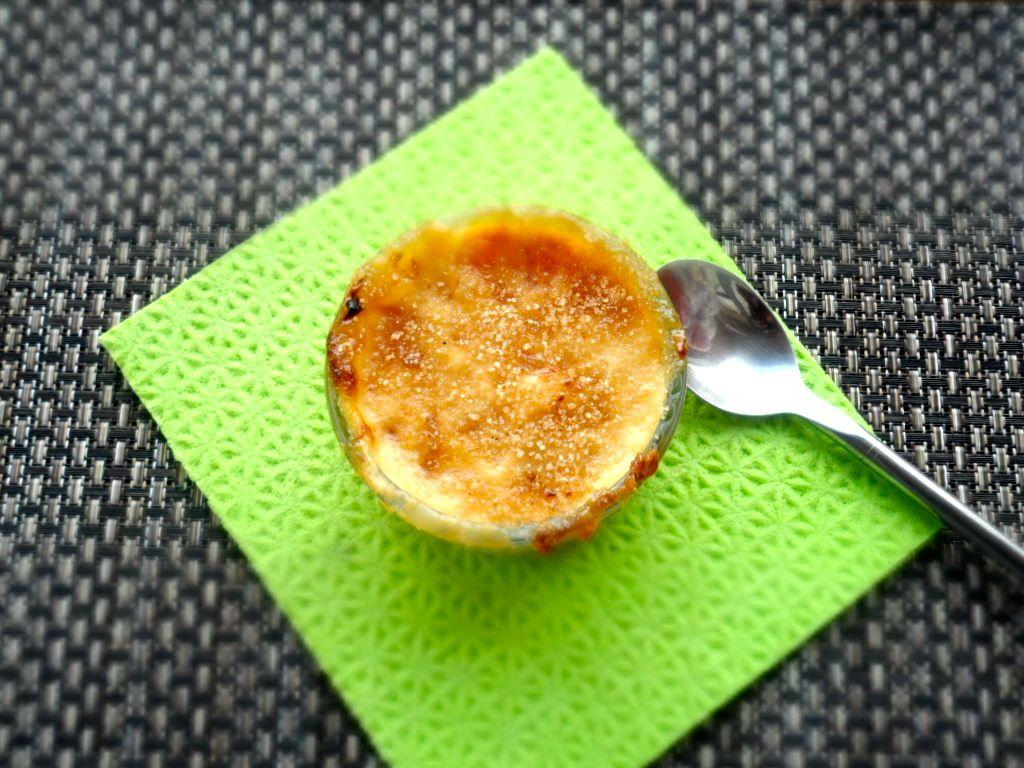 Nigerian Dessert - Pap and Pineapple Brûlée