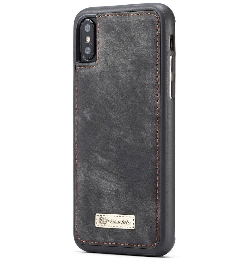 Caseme iphone xs max zipper wallet folio case