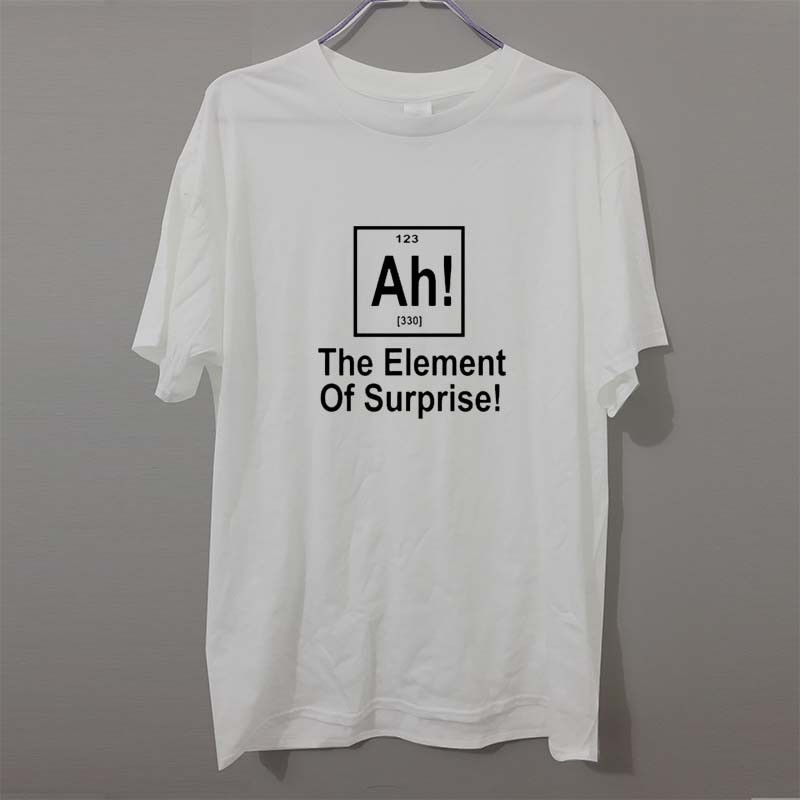 Funny Kids Childrens T-Shirt tee TShirt The Element Of Surprise