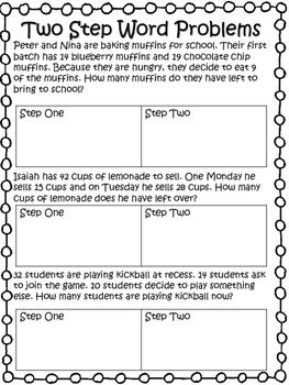 No Prep Math Packet 2nd Grade This Product Is Full Of Review Skills That Your Student Need To Master Before 3rd Tpt 2ndgrade Wordproblems