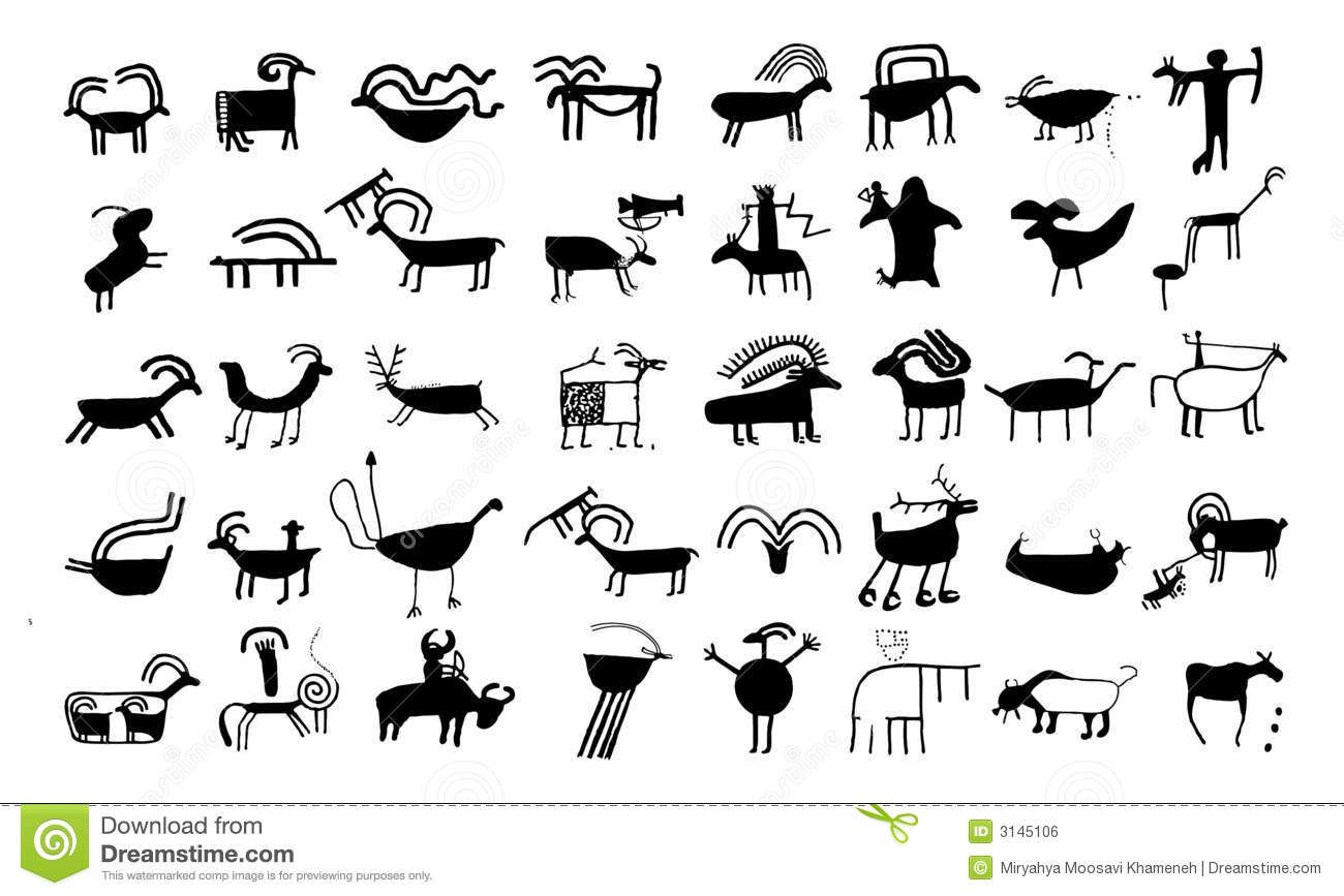 Native american animal symbol ancient banimalb drawings and sy rock art native american animal symbol ancient banimalb drawings and sy biocorpaavc Image collections