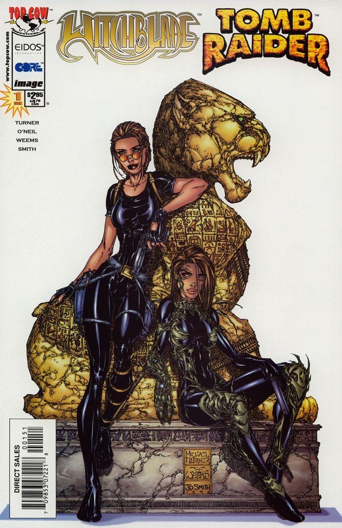 artiste michael turner   Tomb raider, Lara croft, Dessin