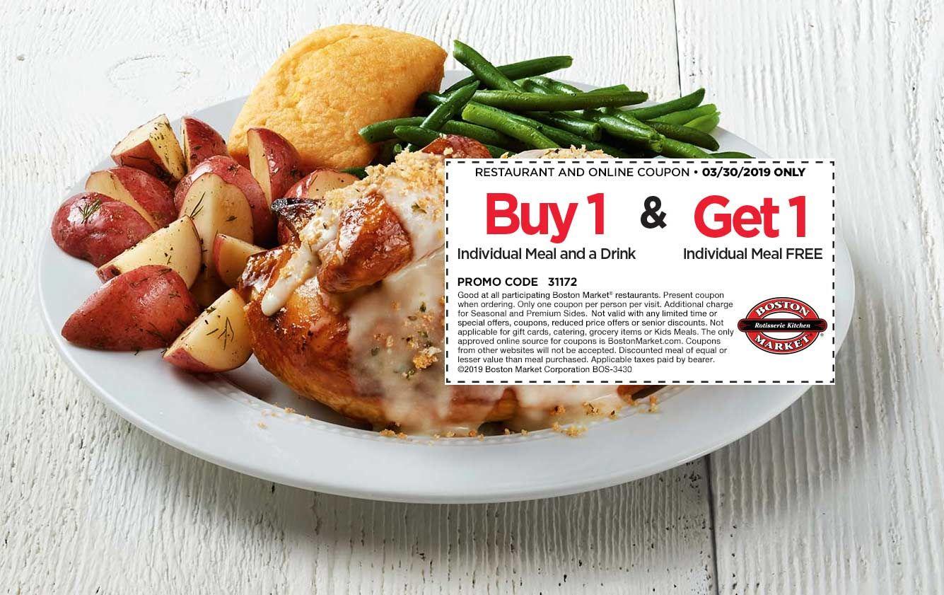 Boston market coupons shopping deals sweet potato