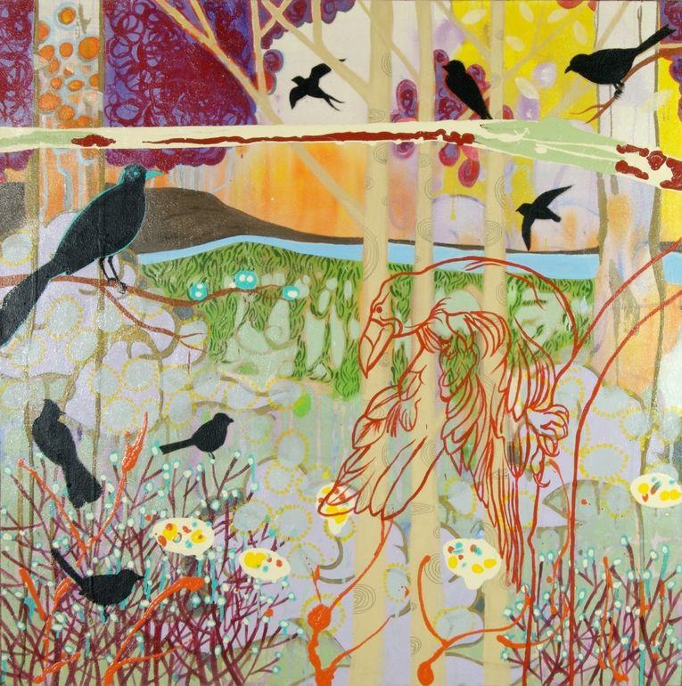 Raven  by Tania Ortega  Carlton, WA, United States