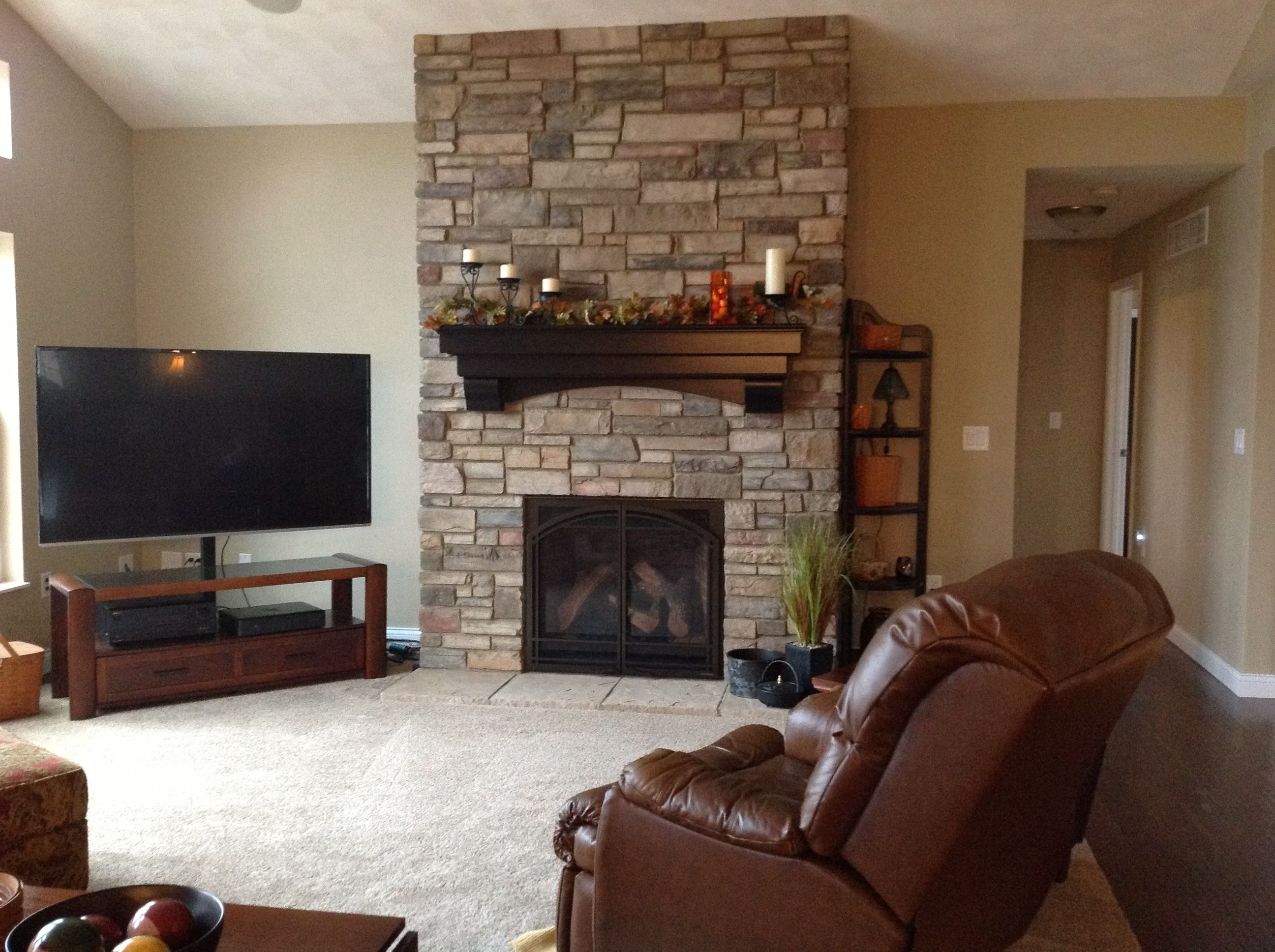 here is a fireplace we recently installed in a customer u0027s new home