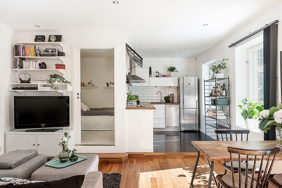 UN PETIT ESPACE QUI NE PERD PAS DE PLACE Apartments, Studio and