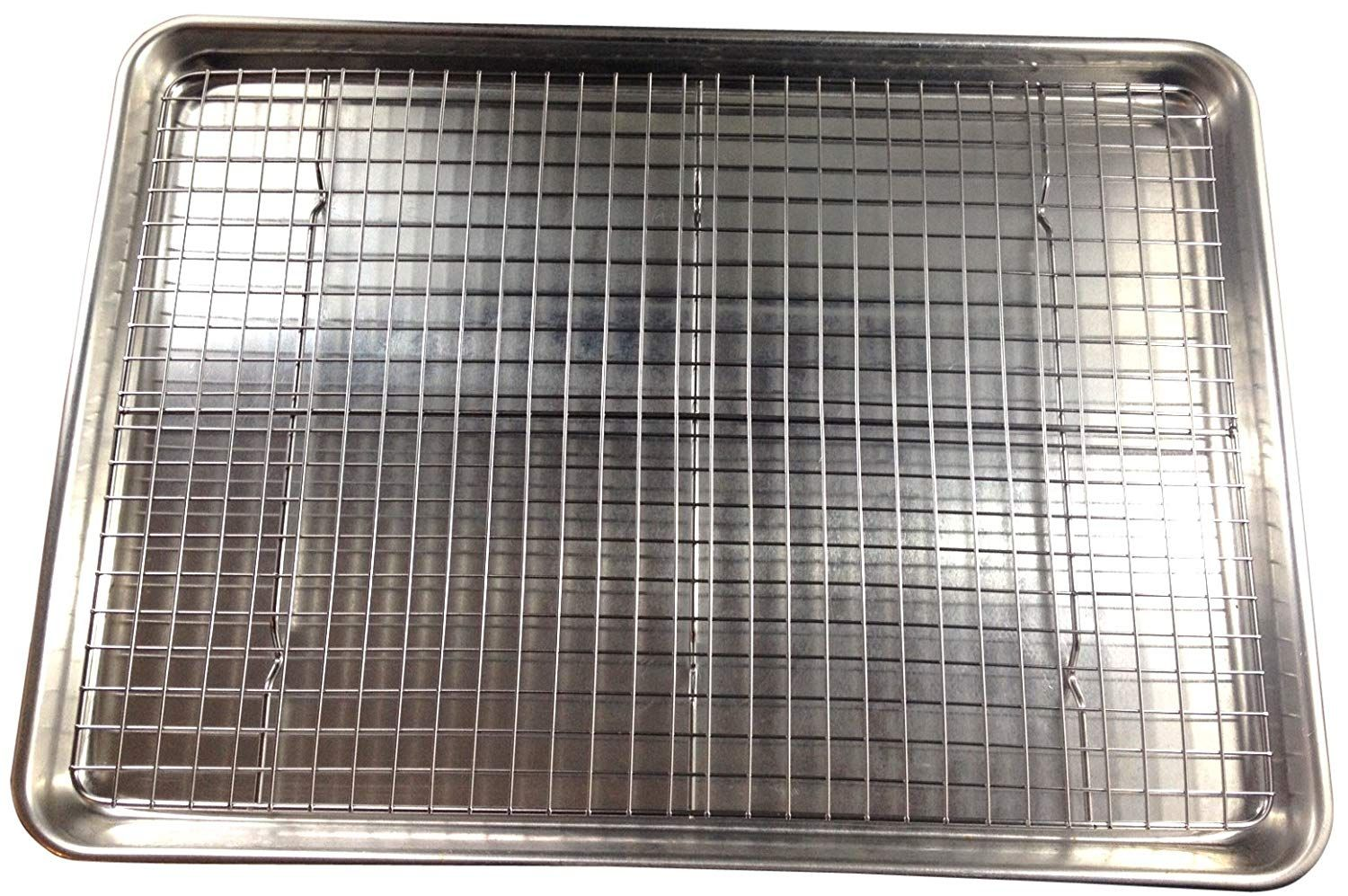 Amazon Com Checkered Chef Cooling Rack Baking Rack Stainless
