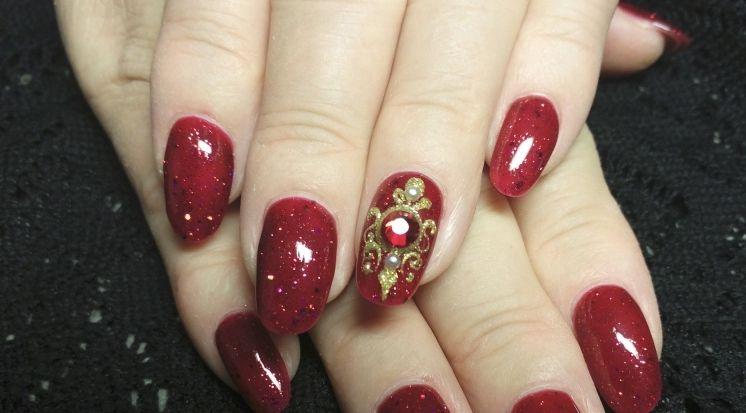 cool Модный дизайн ногтей жидкие камни (50 фото) — Новинки и идеи 2016