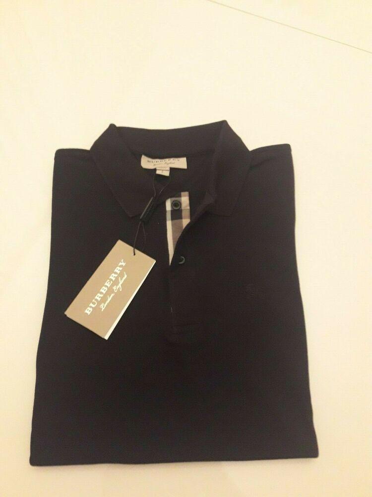 Pistol Boutique Mens Light Grey /& Navy Collar detal polo tshirt chest logo badge