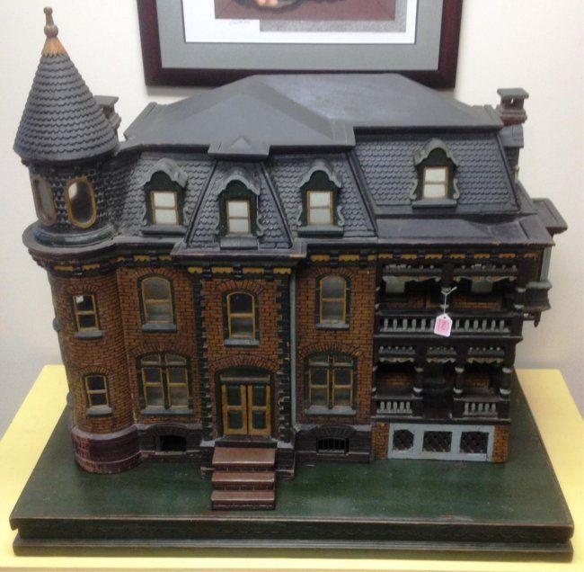 VICTORIAN DOLLS HOUSE - Nov 10, 2013 | Bertoia Auctions in NJ
