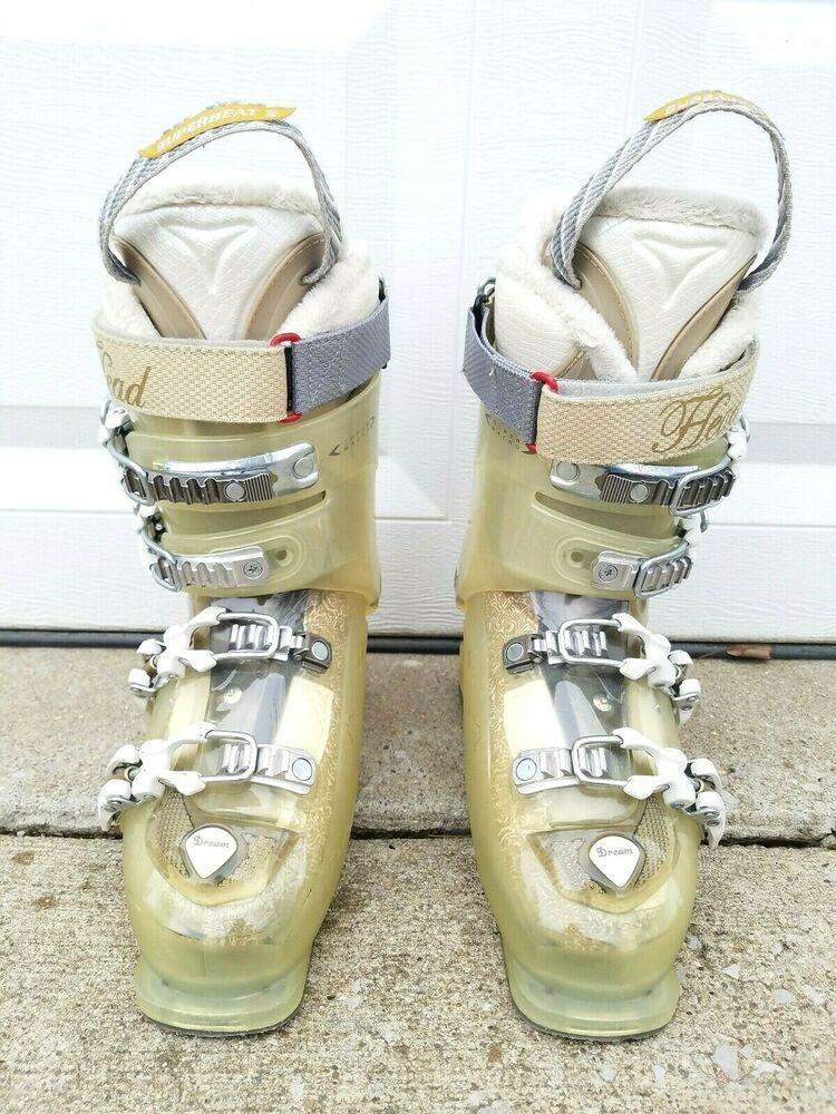 Head dream 125 womens ski boots size 24 245 superheat 3