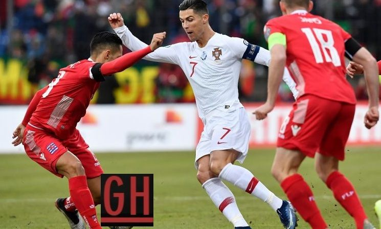 Luxembourg 0 2 Portugal Euro 2020 Qualifiers Football Euro Portugal Euro Football Today