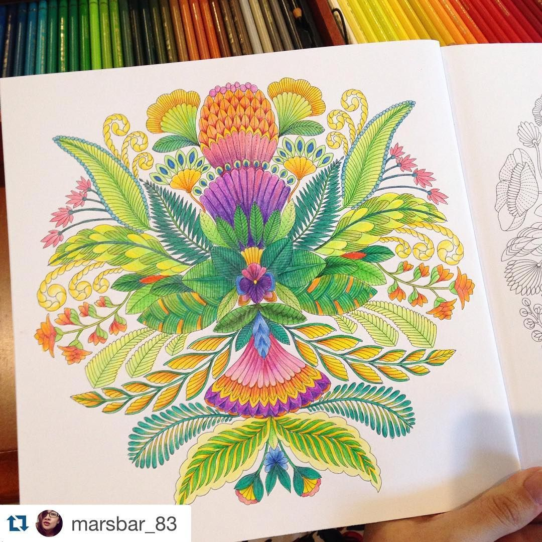 """Sessão Paraíso Tropical Colorido da @marsbar_83 ______________________________ #milliemarotta #paraisotropical #colorindo #jardimsecreto…"""