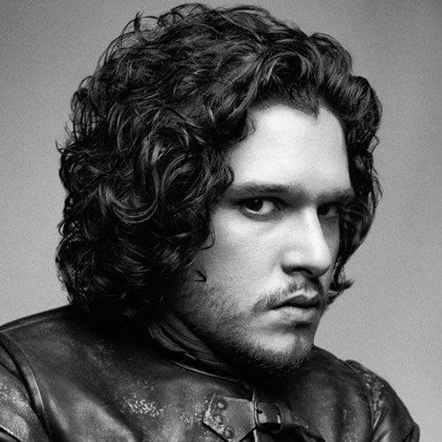 Kit Harington Haircut 2019 Mens Curly Hairstyles Pinterest