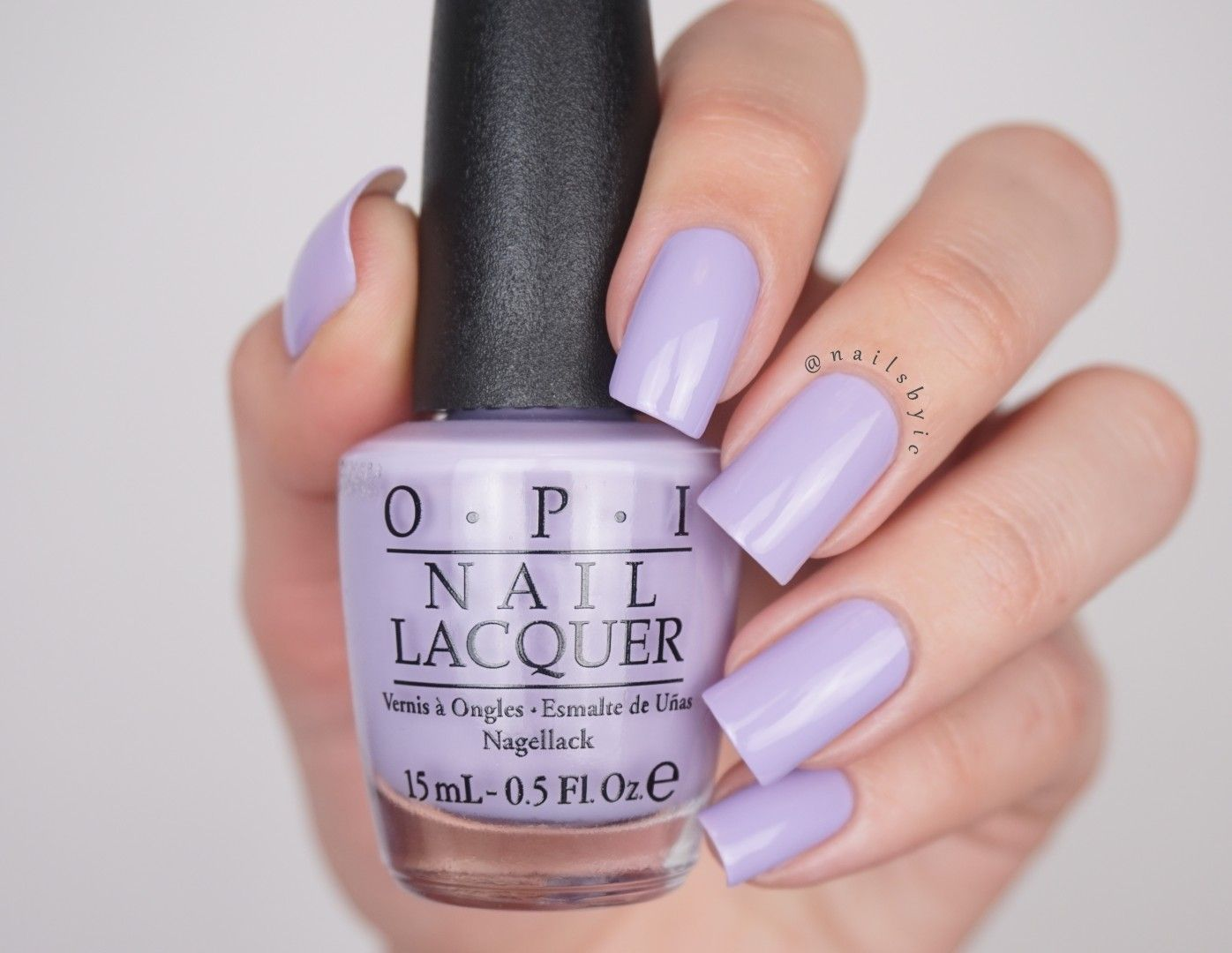 OPI Polly Want a Lacquer? swatch OPI Fiji swatches review spring ...