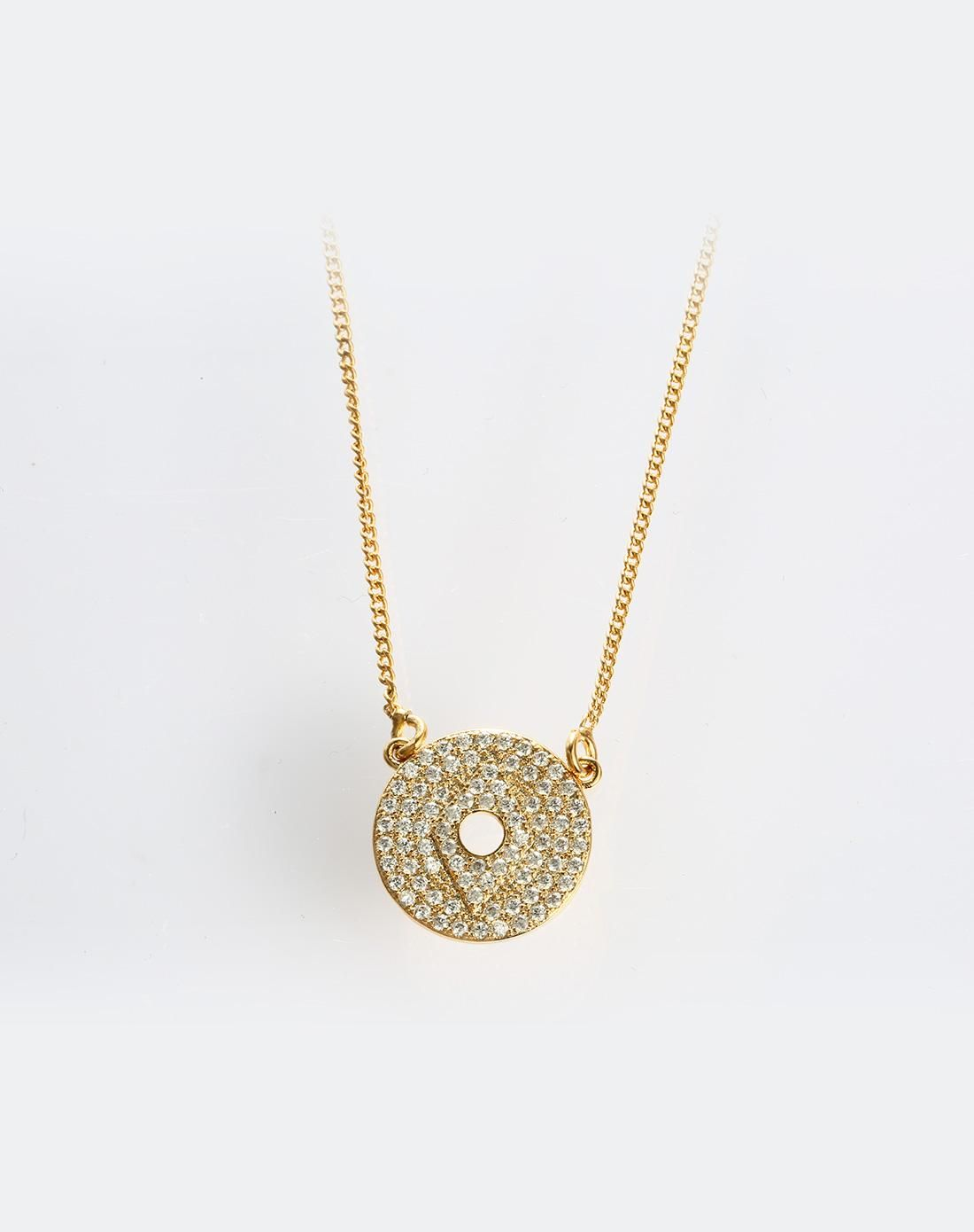 #AdoreWe #VIPme Necklaces - XUPING White Fashion Crystal Gold Plated Necklace - AdoreWe.com