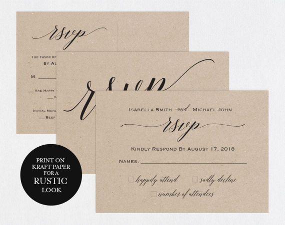 Rsvp Postcards Templates Wedding Rsvp Cards Rsvp Online Etsy Rsvp Wedding Cards Wedding Response Cards Wedding Rsvp Postcard