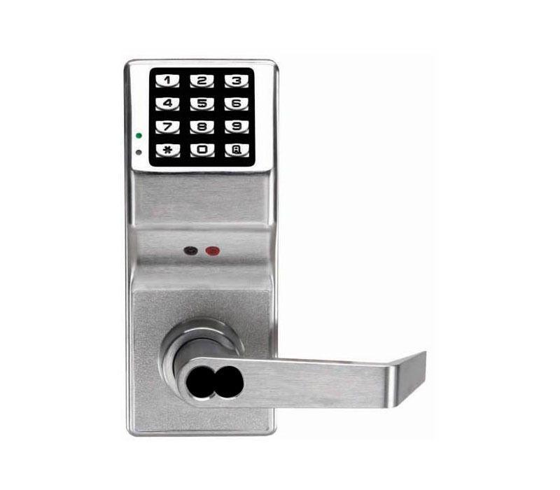 Alarm Lock Dl3200 Us26d Pushbutton Cylindrical Lock Weatherproof Straight Lever Pushbutton Weatherproofing Wireless Printer