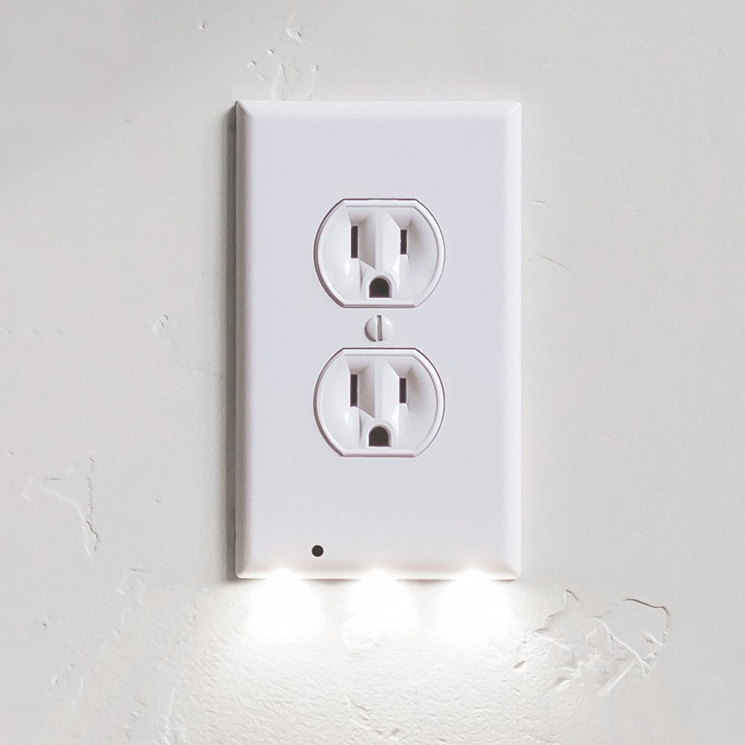 1 Pack SnapPower Guidelight - Outlet Wall Plate With LED Night ...
