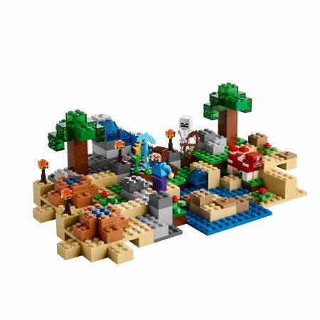 Lego Minecraft The Crafting Box 2 0 With Steve And Creeper 21135 Lego Minecraft Legominecraft