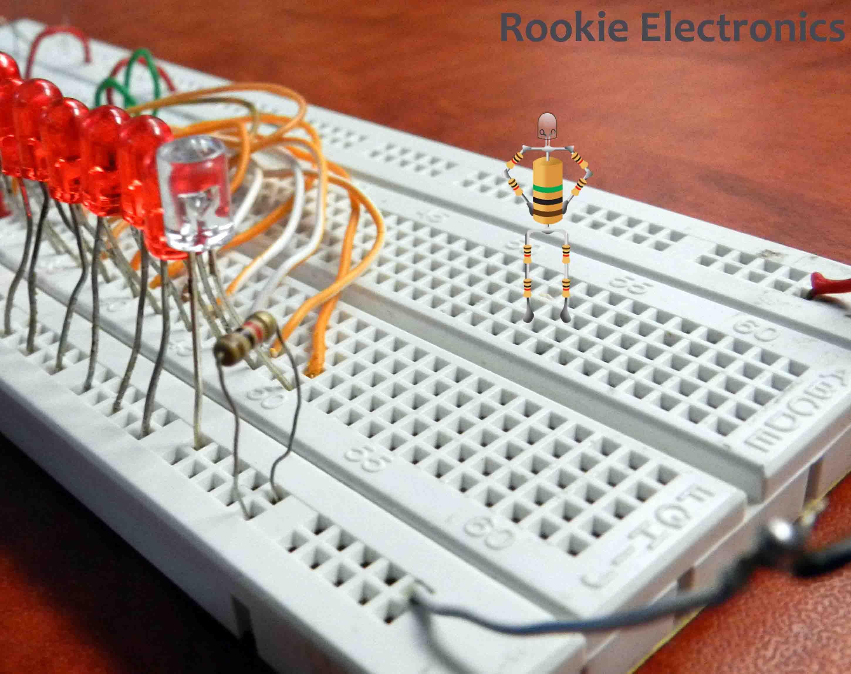 LED Chaser | Led, Chaser, Robotics club
