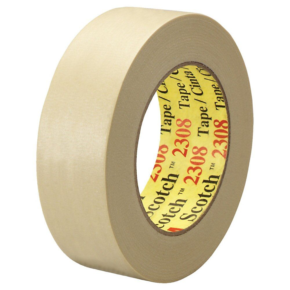 3m 2380 High Temperature Masking Tape 1 X 60 Yd Tan Case Of 36 Masking Tape Tape Material For Sale