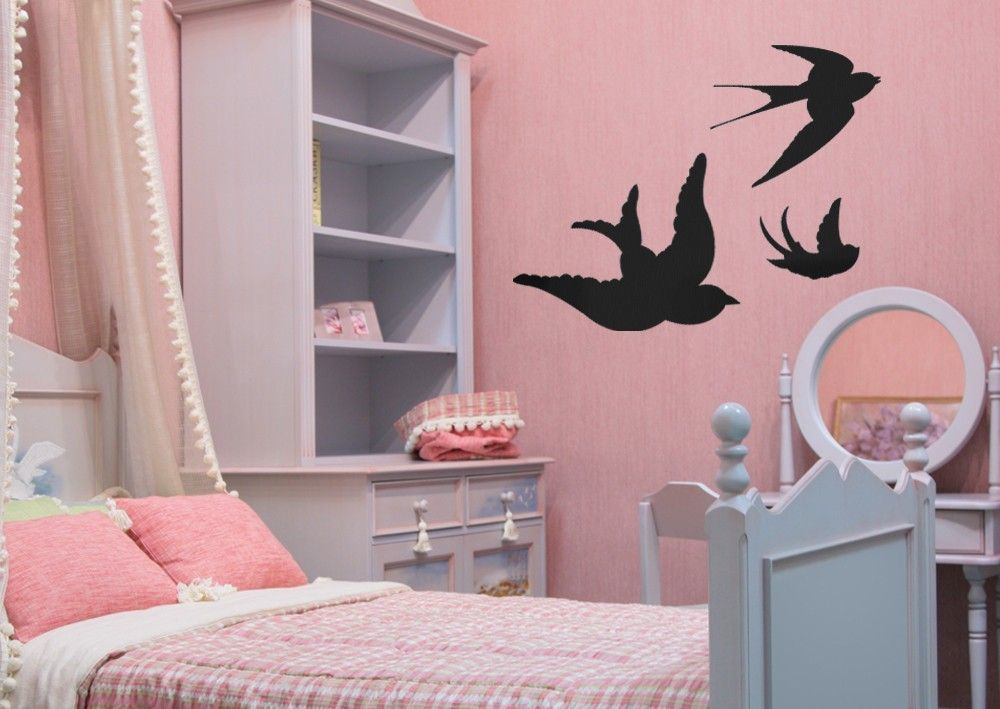 Swallows Wall Sticker Is A Pack Of Three Birds At A Great Price
