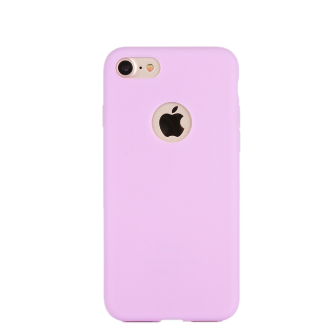 Matte Candy Color Silicone Soft iPhone 7 / 8 Cases