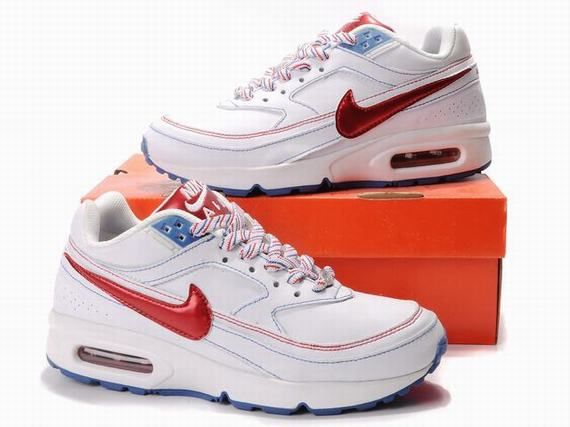 magasin en ligne 611f7 53695 Femmes Nike Air Max BW Blanc Rouge Chaussures | I'd wear this