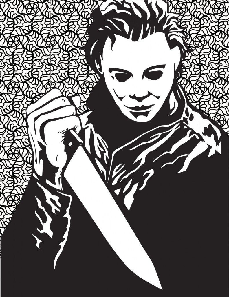 Halloween Horror Coloring Pages (With images) | Halloween ...