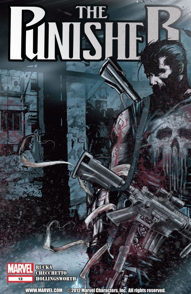 Punisher #12 After making the streets run red in the OMEGA EFFECT ...