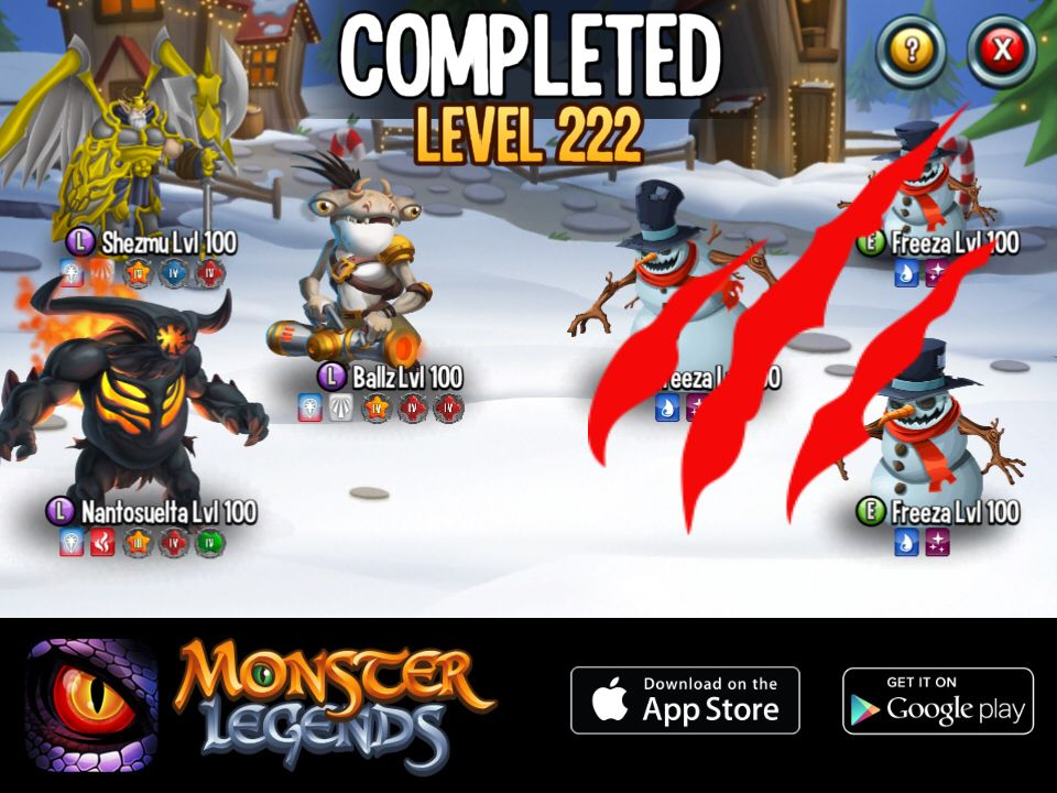 I won a reward at monster legends want to join start
