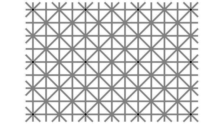 #¿Es capaz de ver los 12 puntos negros a la vez? - POSTA: POSTA ¿Es capaz de ver los 12 puntos negros a la vez? POSTA Teóricamente,…