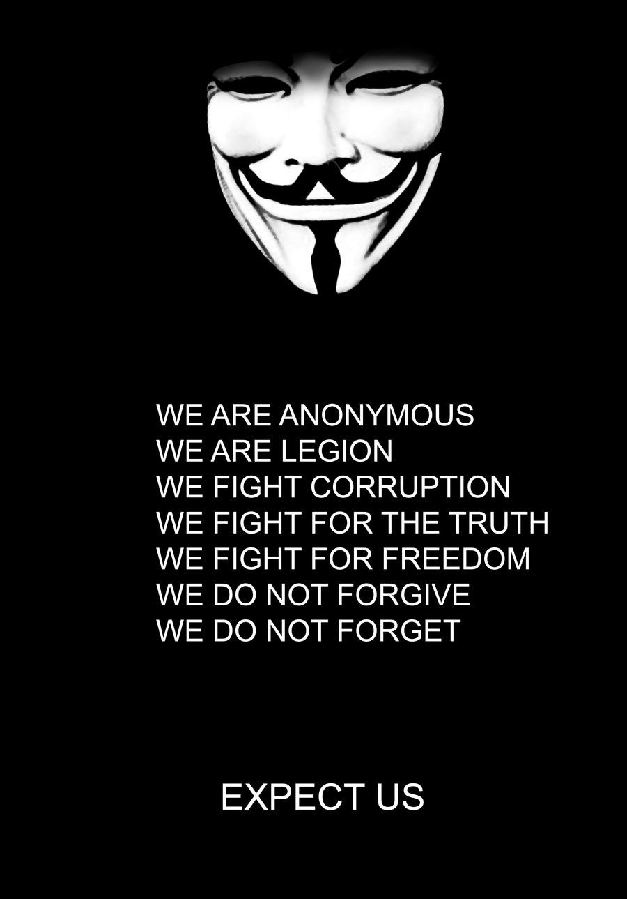 Anonymous Mine Anonymous Anonymous Mask Quotes