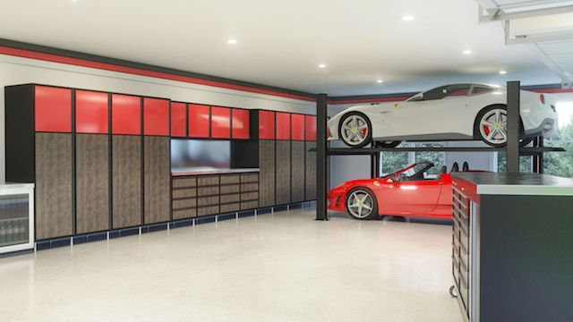 Why Your Car is on the Street and Not in the Garage #garage #organization Learn more: http://www.closetfactory.com/blog/