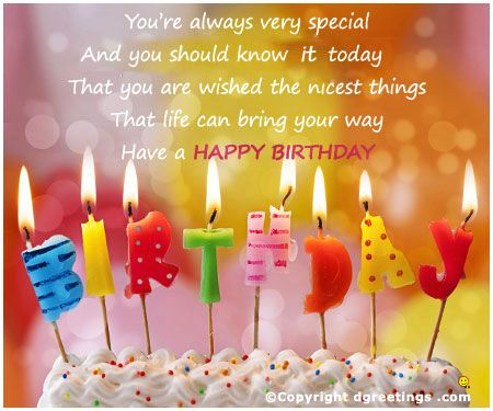 Dgreetings Happy Birthday Card Birthday Card – What to Say in a Happy Birthday Card