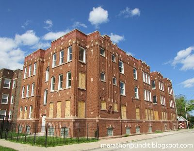 Abandoned Apartment Building At Vernon And 110th Place In Chicagou0027s  Roseland Neighborhood.