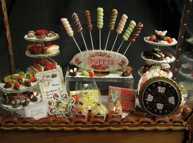 victorian candy display miniatures pinterest miniatures candy