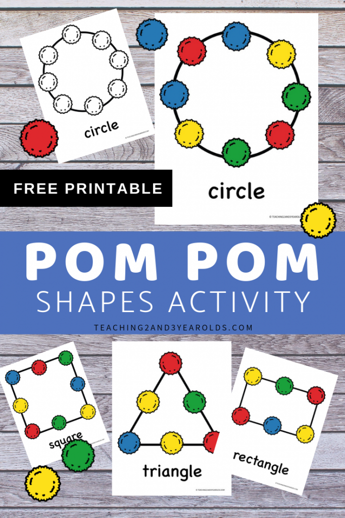 Free Shape Recognition Printable Activity