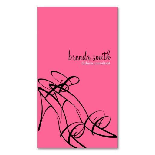 Fashion Consultant Business Cards Zazzle Com Fashion Consultant Business Card Fashion Business Cards Consultant Business